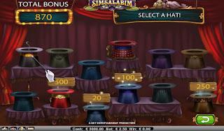 Simsalabim Bonus Game