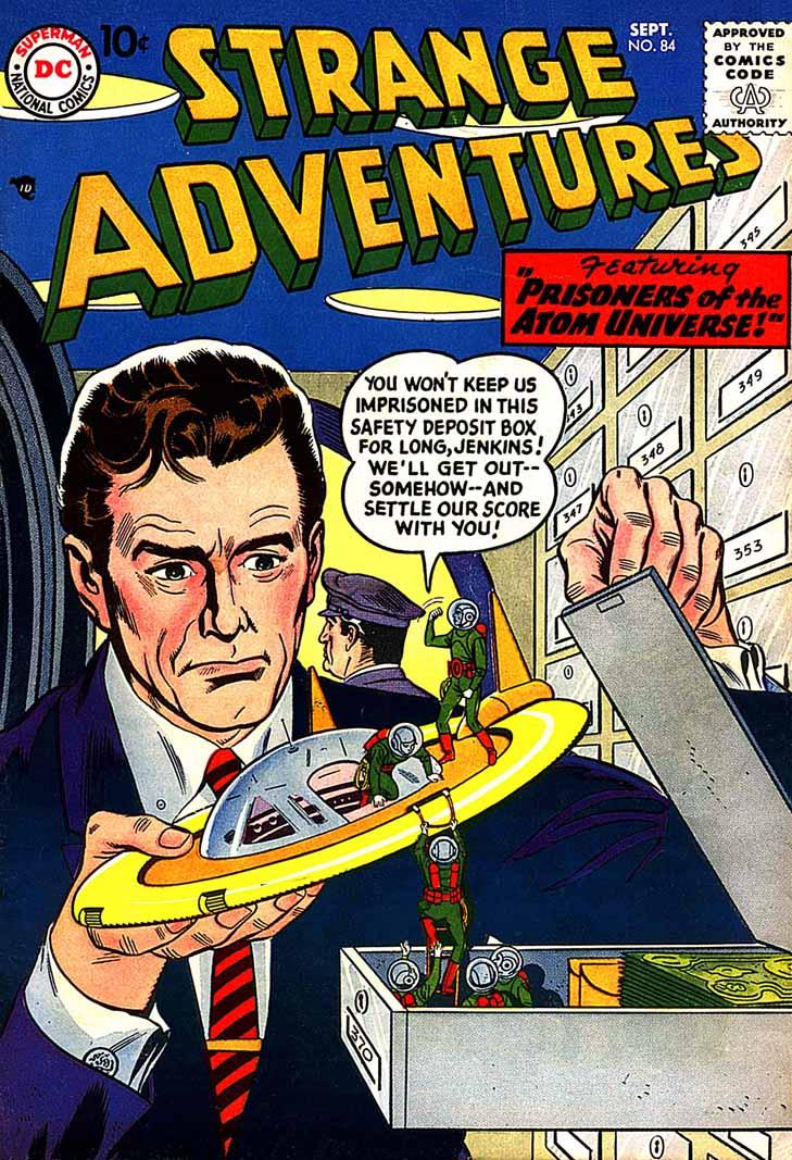 Strange Adventures (1950) issue 84 - Page 1