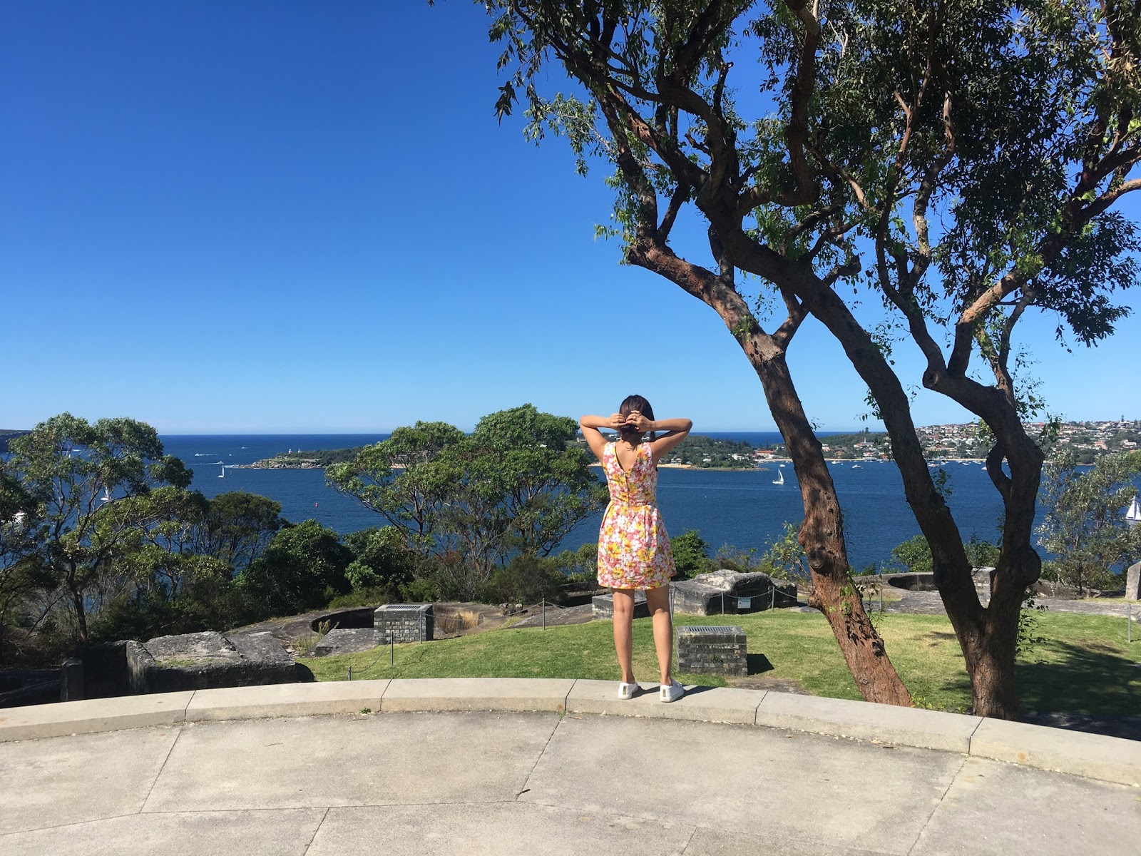 Georges Heights Lookout on Taronga to Balmoral Walk