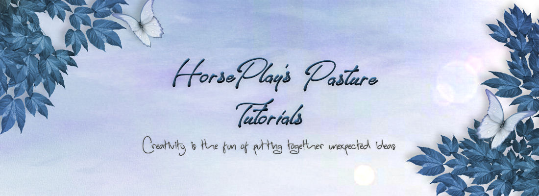 ~♥~ HorsePlay's Pasture Tutorials ~♥~