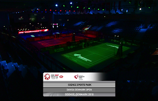 HSBC BWF World Tour Biss Key Eutelsat 7A/7B 16 October 2018