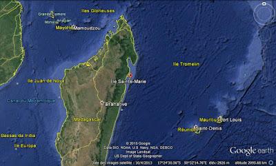 Google Earth Sainte-Marie Madagascar