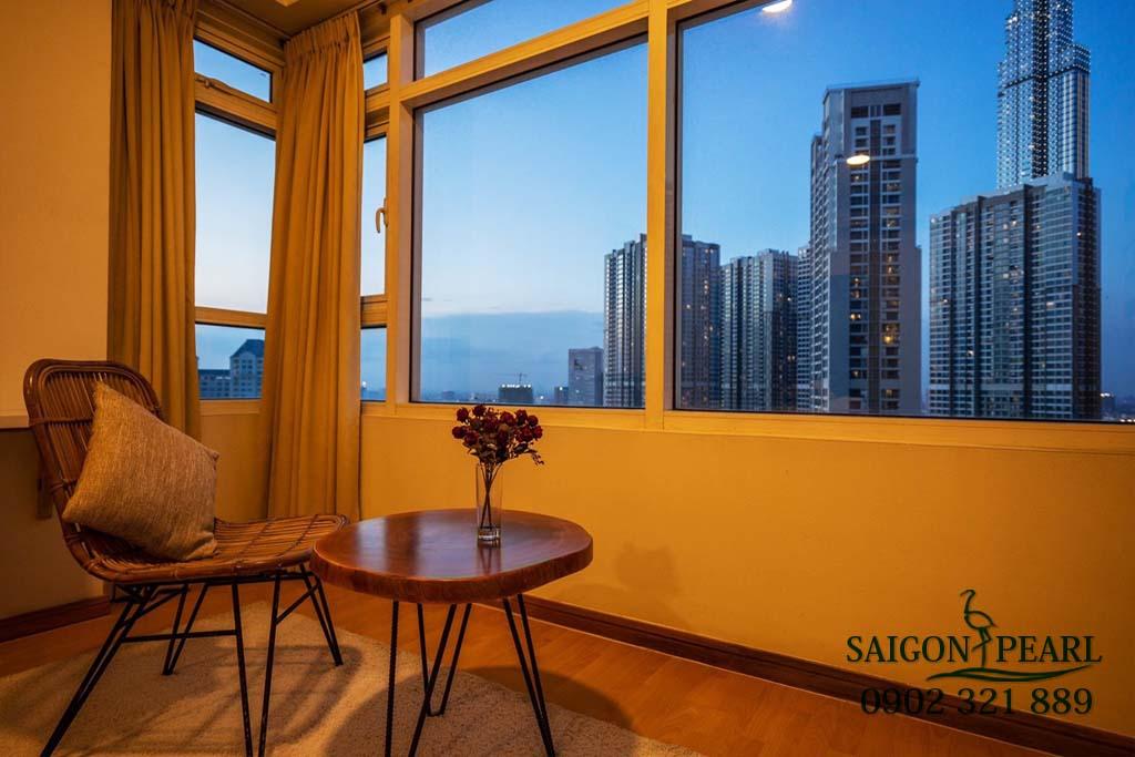 Căn hộ 2 phòng ngủ cao cấp Saigon Pearl cho thuê - 8