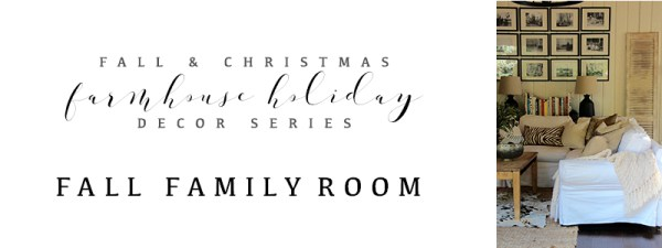 Dear Lillie Farmhouse Holiday Series Early Fall Family