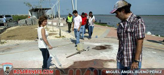 Entregan al servicio de la comunidad la Avenida del Río | Rosarienses, Villa del Rosario