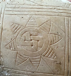 Image result for picture of sumerian swastikas