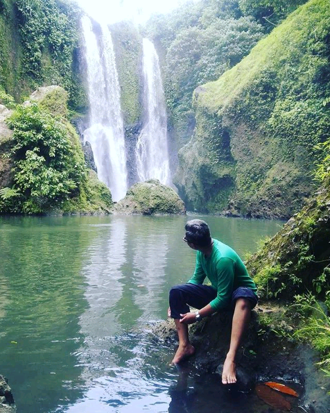 blang kolam waterfall tourism spots travel aceh sumatera indonesia