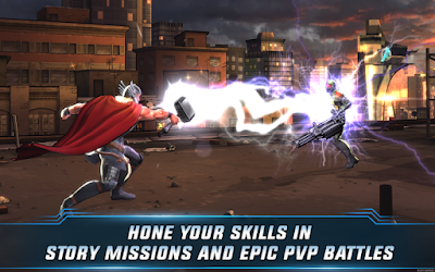 Marvel Avengers Alliance 2 v1.0.2 MOD Apk Terbaru screenshot 3