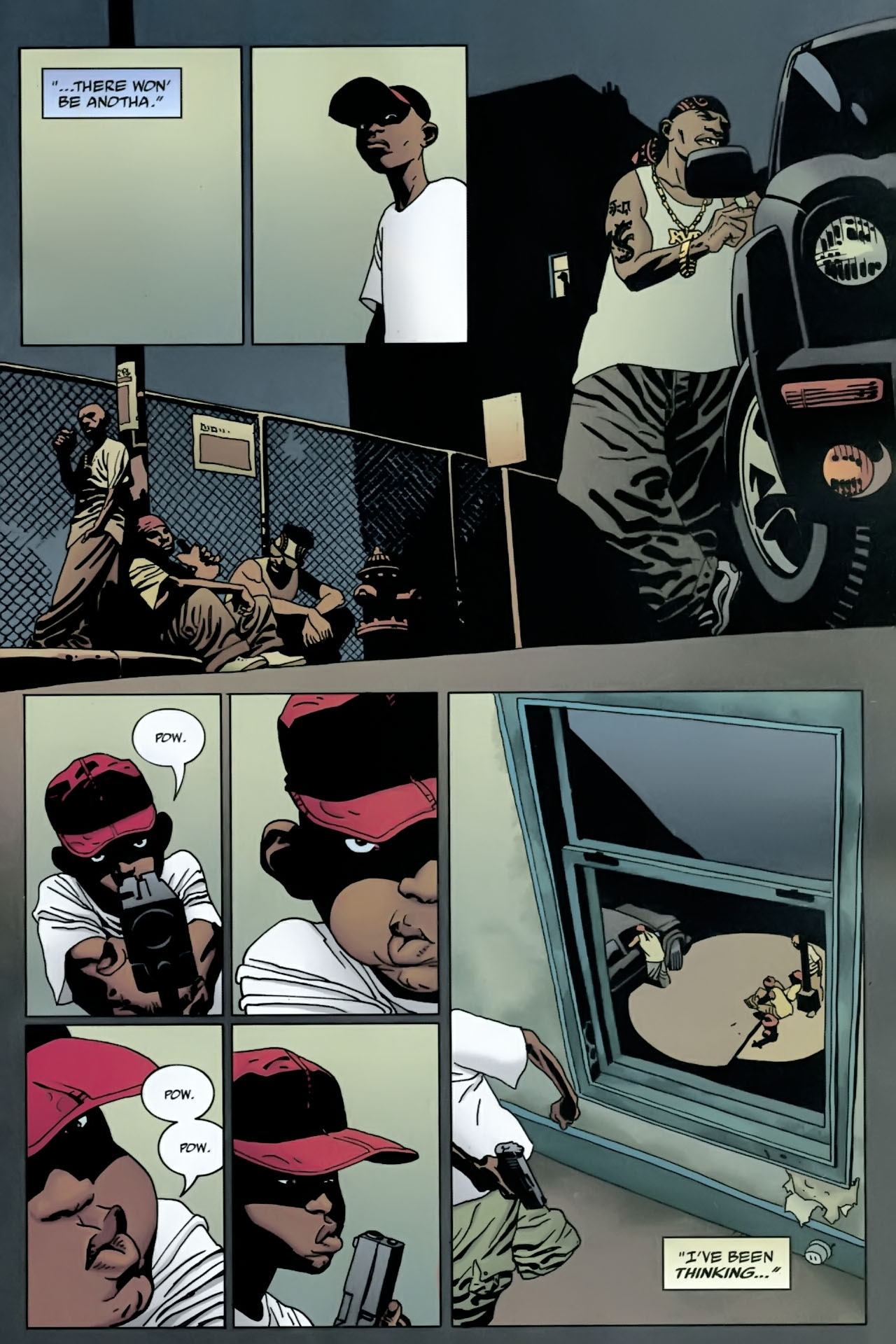 Read online 100 Bullets comic -  Issue #90 - 10