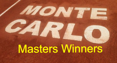 Monte-Carlo rolex Masters tennis championship, champions, winners, by year, list, history.