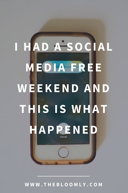 I Had a Social Media Free Weekend and This is What Happened