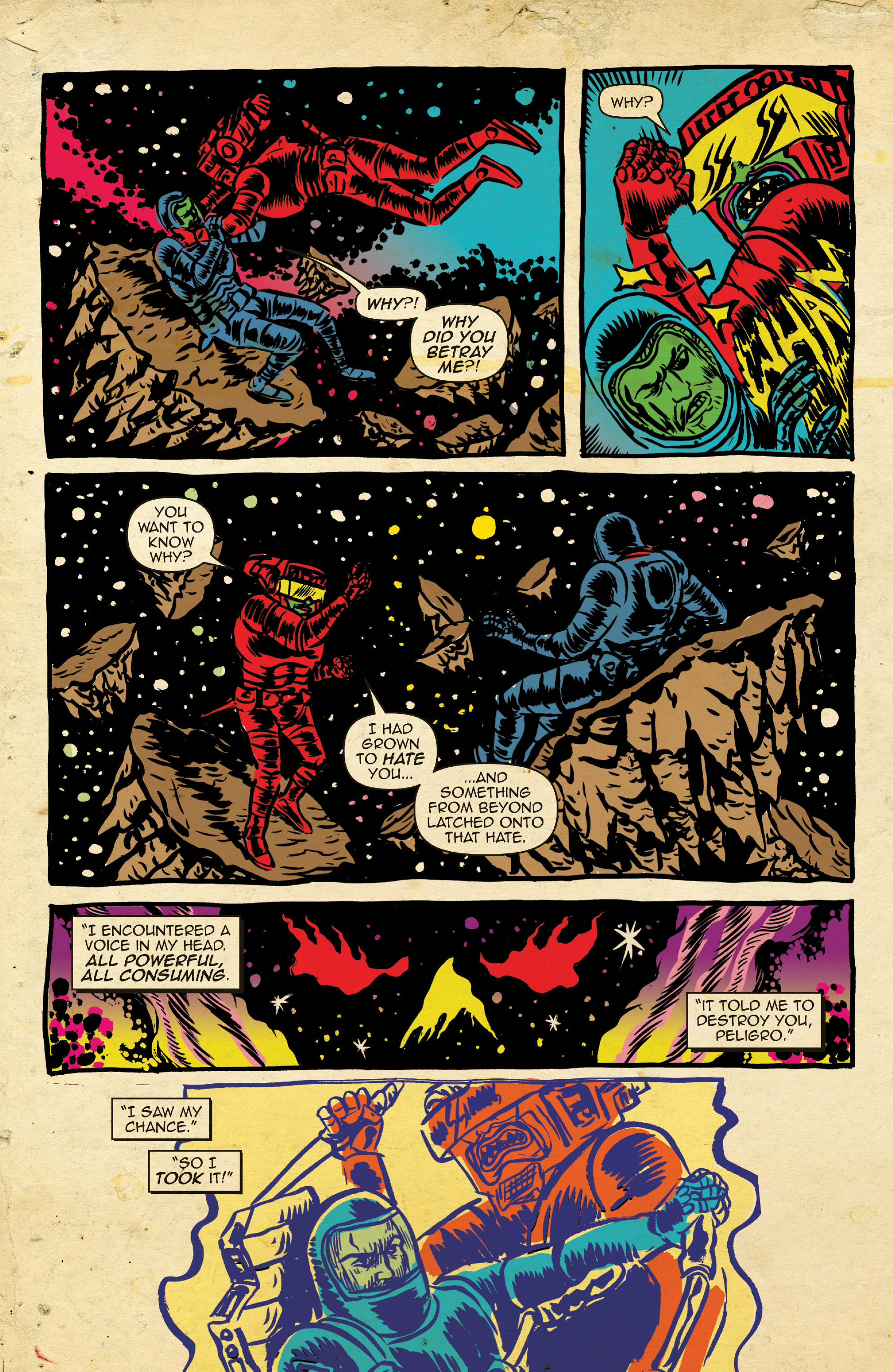Read online Space Riders comic -  Issue #4 - 15