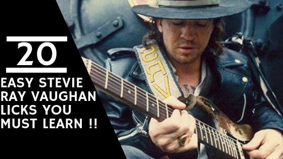 20 easy stevie ray vaughan licks you must learn bluescluster. Black Bedroom Furniture Sets. Home Design Ideas