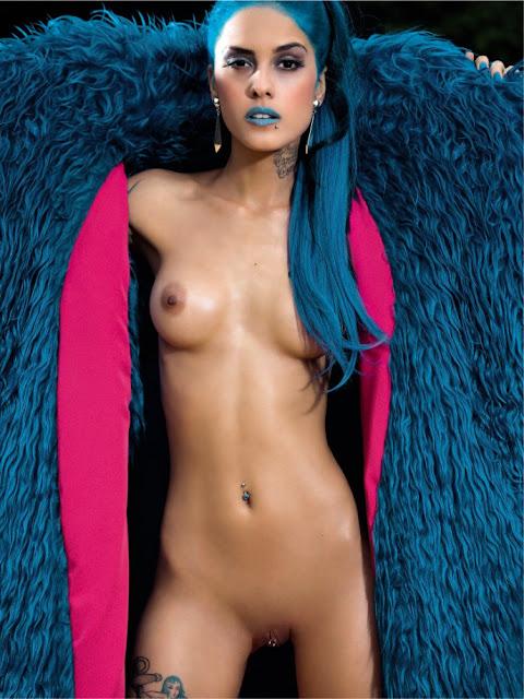 Fotos de Tati Zaqui nua pelada na Playboy