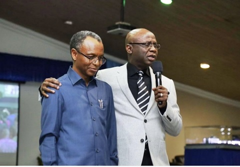 Pastor Tunde Bakare's Latter Rain Assembly Church Hosts 'Muslim' Gov. El-Rufai in Lagos (Photo)