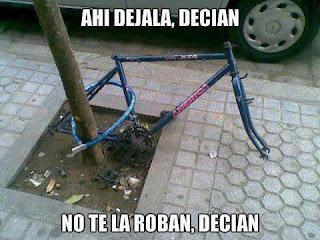imagen chistosa de bicicleta