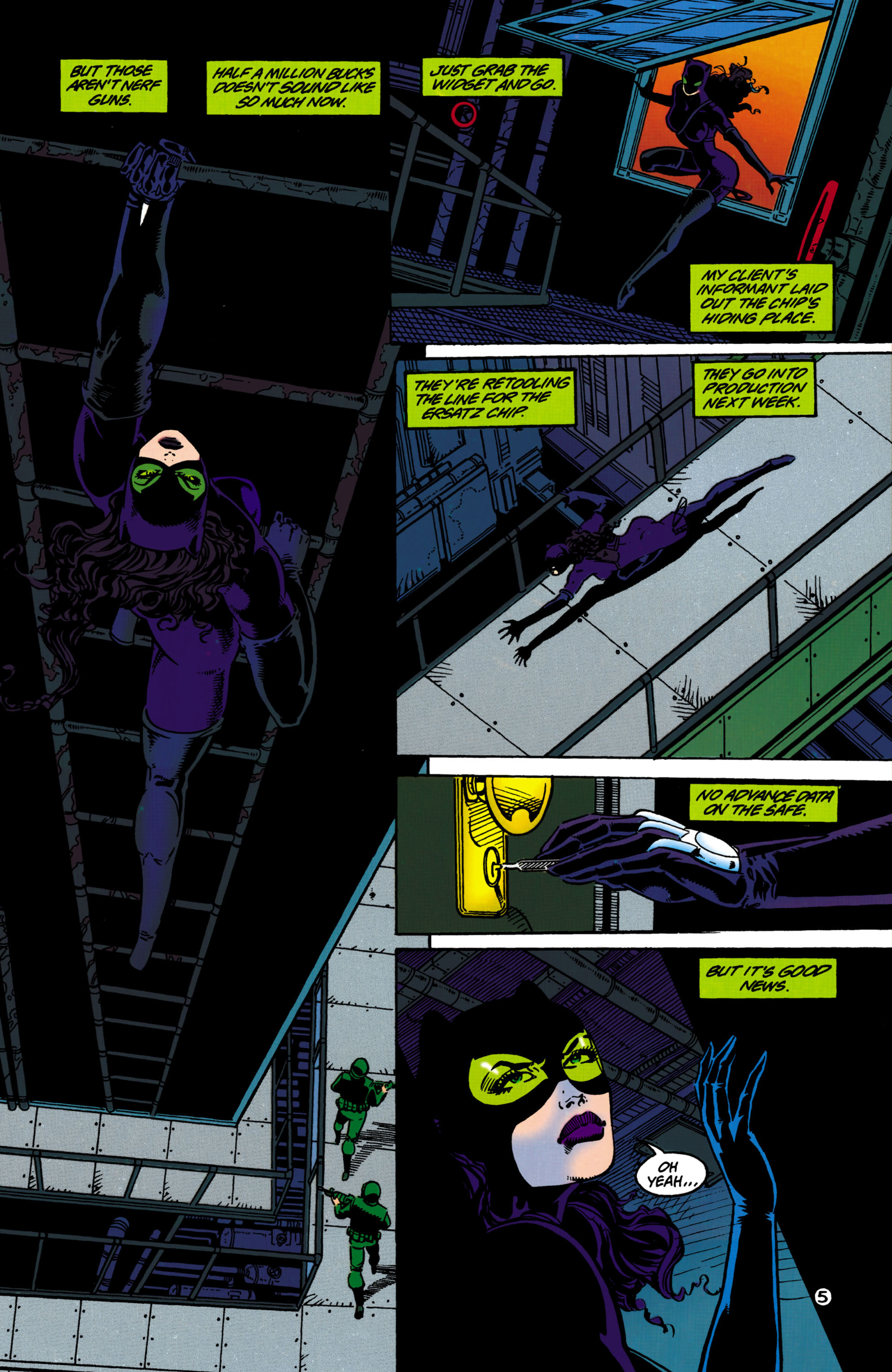 Catwoman (1993) Issue #33 #38 - English 6