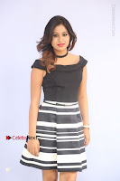 Actress Mi Rathod Pos Black Short Dress at Howrah Bridge Movie Press Meet  0018.JPG