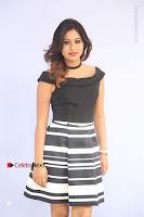 Actress Mi Rathod Pos Black Short Dress at Howrah Bridge Movie Press Meet  0018.JPG