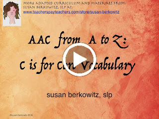 AAC C is for core words