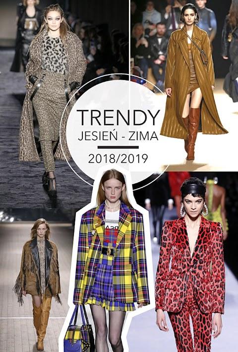 Trendy jesień-zima 2018/2019