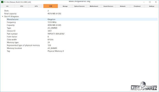 PC Info 3.0.2.2000 imagenes
