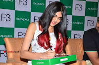 Bollywood Actress Adah Sharma Pos in White Printed Short Dress at OPPO F3 Plus Selfie Expert Mobile Launch .COM 0082.jpg