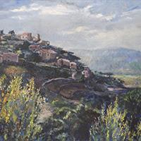 Joan Gil pintura figurativa paisajes Montseny
