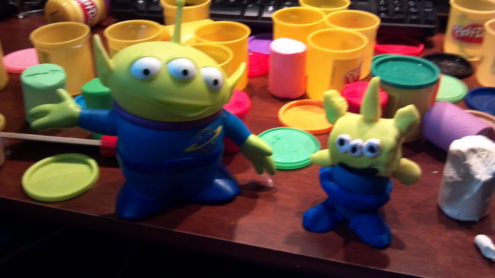 Play Doh Toy Story Alien