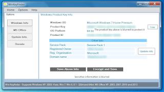 تحميل برنامج winkeyfinder لمعرفة سريال اى اصدار ويندوز