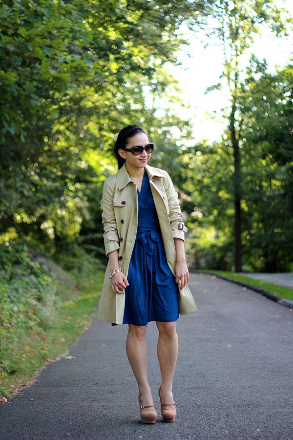 Review: J. Crew Collection Icon Trench in Light Khaki