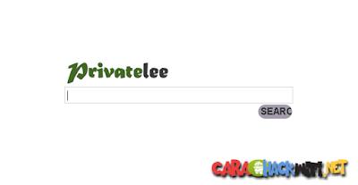 Privatelee - private search engine