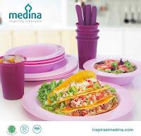 Dusdusan Amethyst Microwaveable Dining Set ANDHIMIND