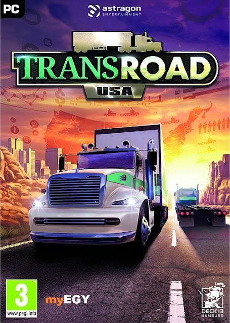 تحميل لعبه TransRoad USA v1.2.1 2018 للكمبيوتر