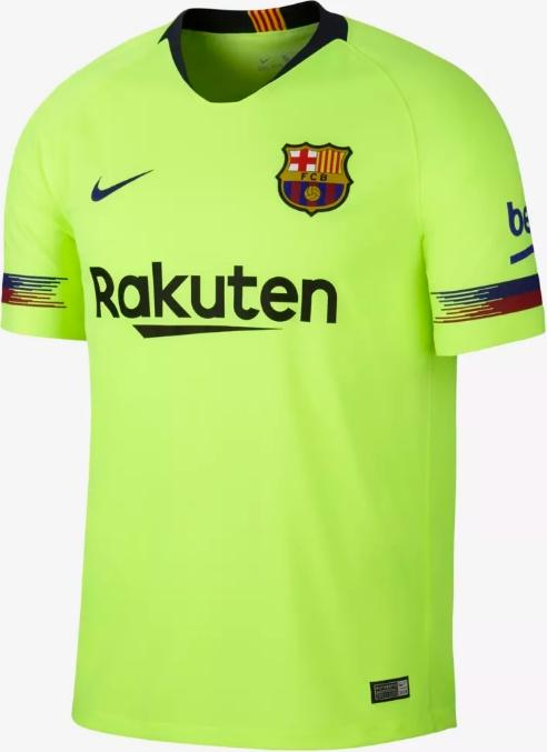 Nike lança a nova camisa reserva do Barcelona - Show de Camisas 49235fe65455a