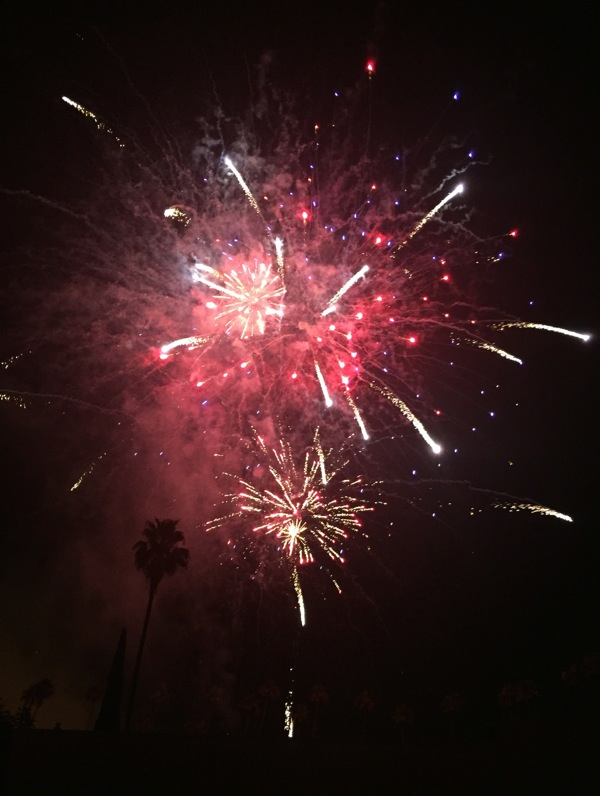 Hollywood Forever Fourth of July fireworks