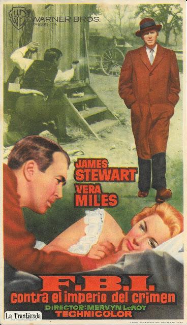FBI Contra el Imperio del Crimen - Programa de Cine - James Stewart - Vera Miles
