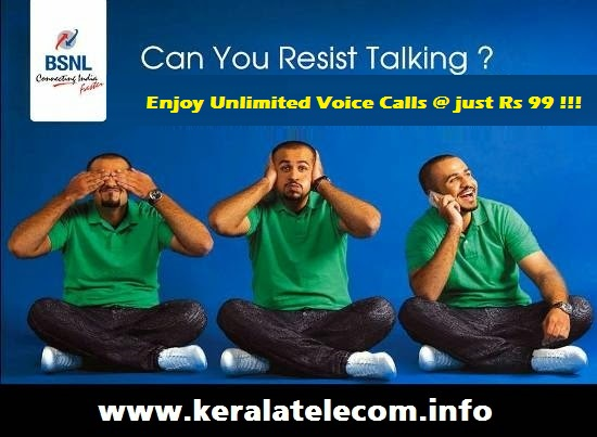 BSNL launches Unlimited Voice Calling Offers for prepaid mobile customers, Packs starts from Rs 99 on wards