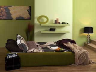 ruang+tamu+nuansa+hijau Ciptakan Kesan Alami Bersama Ruang Tamu Hijau
