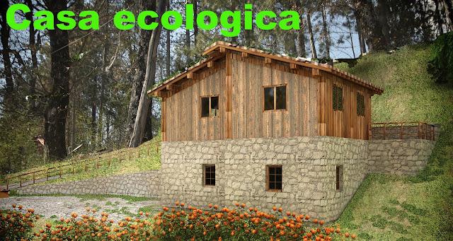 Casa ecologica a Caprese Michelangelo