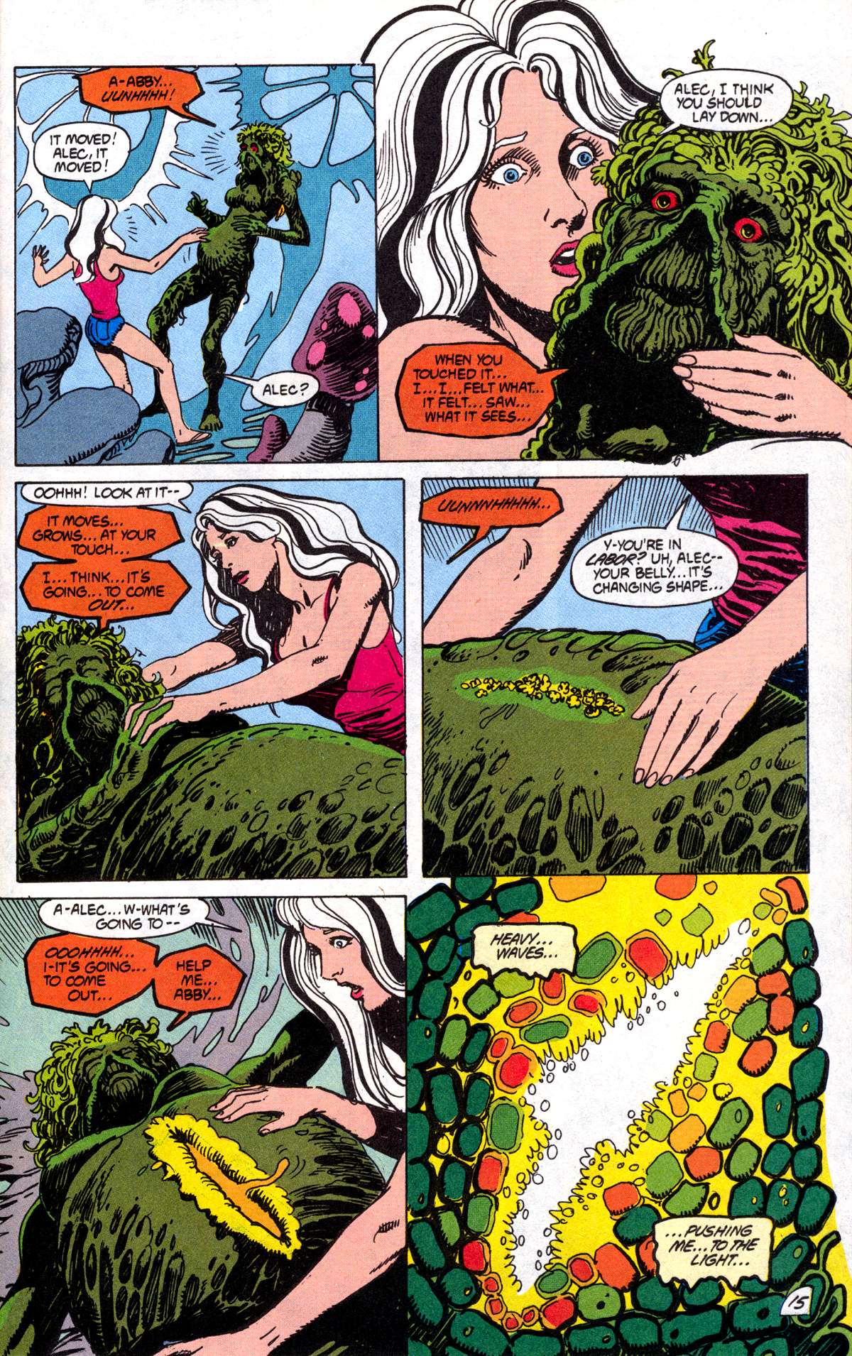 Swamp Thing (1982) Issue #78 #86 - English 16