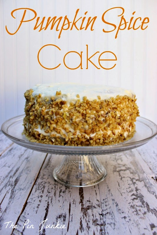 pumpkin-spice-cake with cream cheese frosting