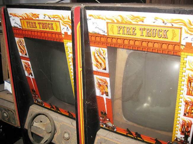 atari stand up arcade game