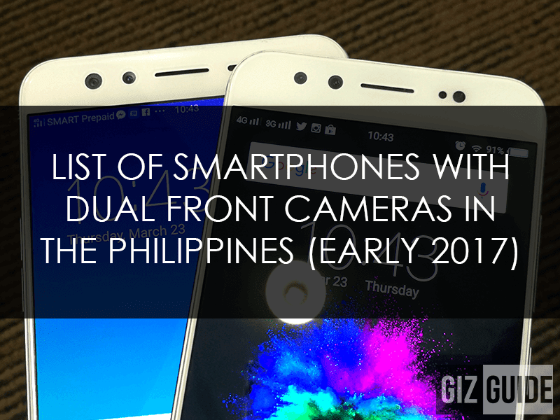 Dual selfie camera smartphones in PH!