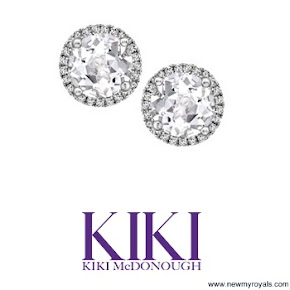 Kate Middleton Kiki McDonough Earrings