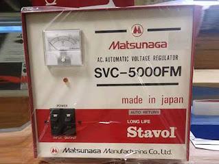Darmatek Jual Matsunaga Stavol SVC-5000FM Stabilizer 5000VA