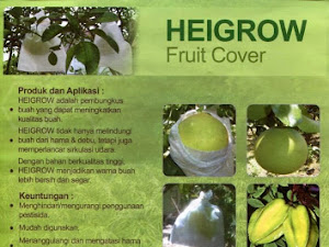 Manfaat Plastik Uv - Berongsong Buah Berkualitas ,Heigrow Fruit Cover