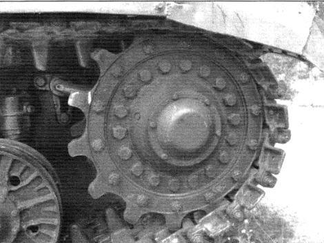 Ведущее колесо танка Т-10М