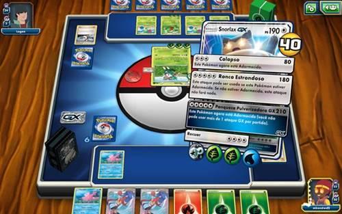 Pokemon TCG Online é a versão digital oficial do jogo de cartas de Pokémon
