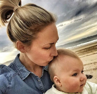 Mom has never fed her baby sugar or carbs in her life, here's what she looks like today